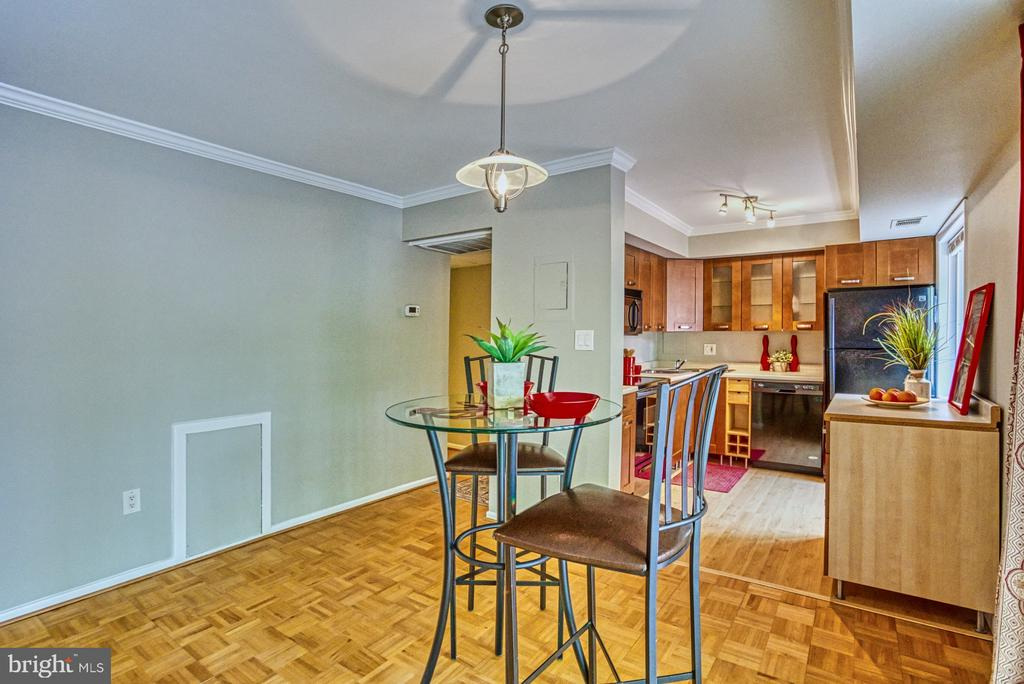 large dining space off kitchen - 3200 S 28TH ST #404, ALEXANDRIA