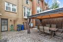 Beautiful furnished Patio - 3005 SEVEN OAKS PL, FALLS CHURCH