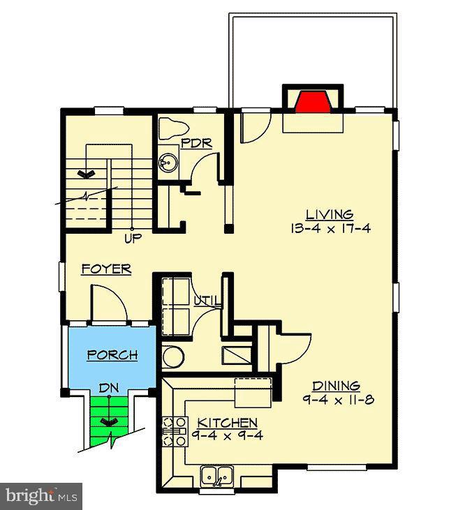 2nd Floor of Floorplan - 1236 CREEK DR, ANNAPOLIS
