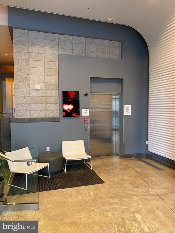 Entryway and Elevator - 1414 BELMONT ST NW #309, WASHINGTON