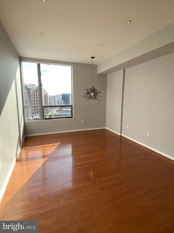 Floor to ceiling windows overlooking 14th St. - 1414 BELMONT ST NW #309, WASHINGTON