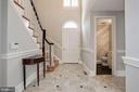 Marble Entry Foyer - 1301 19TH RD S, ARLINGTON