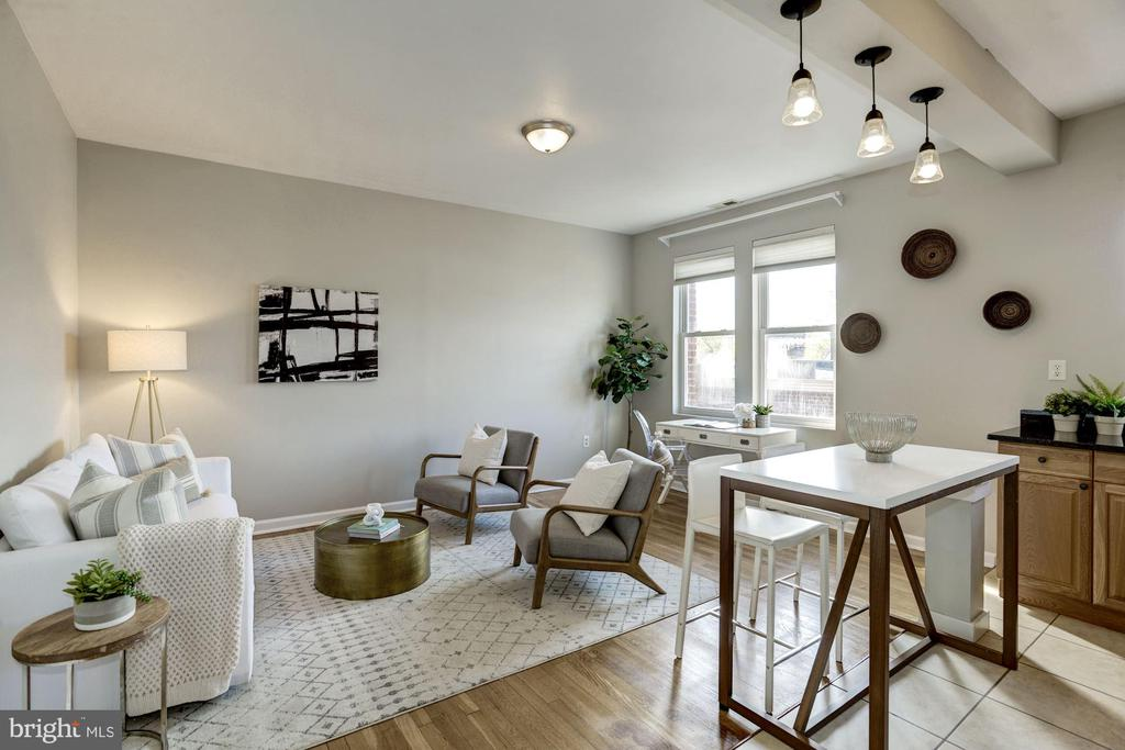 Inviting space to relax or entertain - 4120 14TH ST NW #44, WASHINGTON