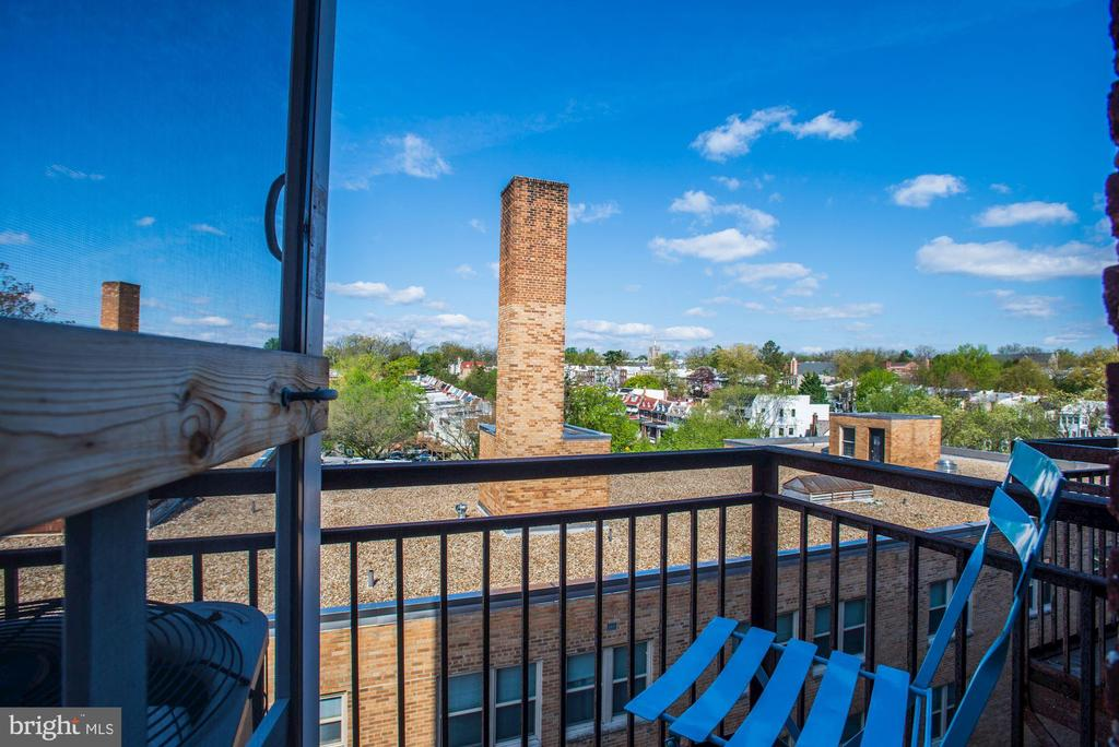 Top floor views - 4120 14TH ST NW #44, WASHINGTON