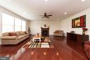Living Area with Gas Fireplace = - 812 MORAN DR, ANNAPOLIS