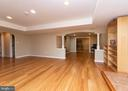 Open Floor Plan in Basement - 812 MORAN DR, ANNAPOLIS