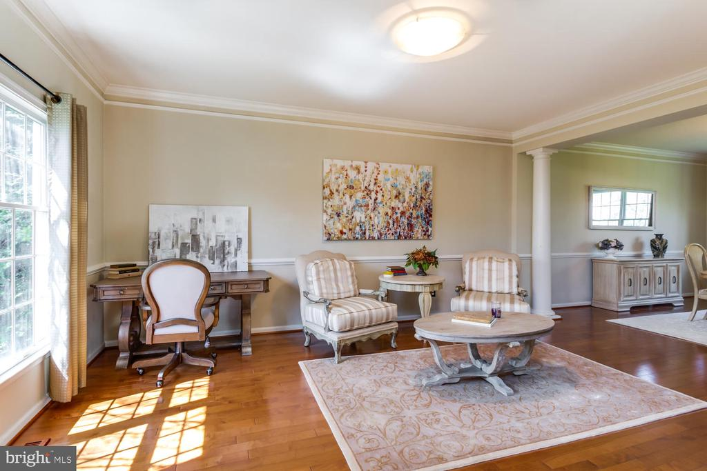 Sunny living room off the foyer - 10892 HUNTER GATE WAY, RESTON