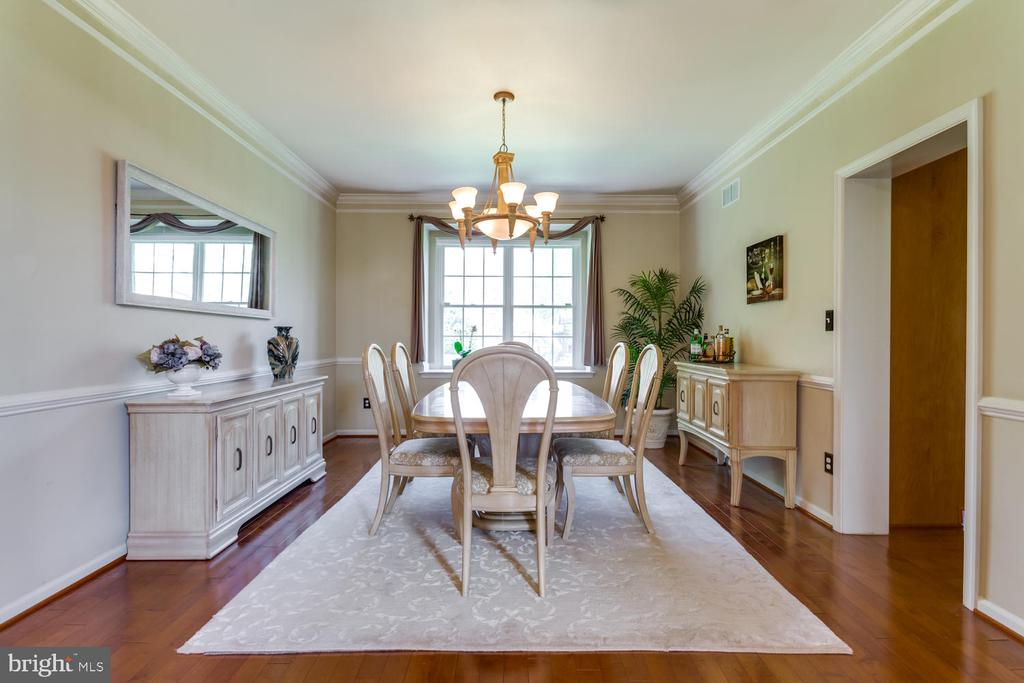Spacious and separate dining room - 10892 HUNTER GATE WAY, RESTON