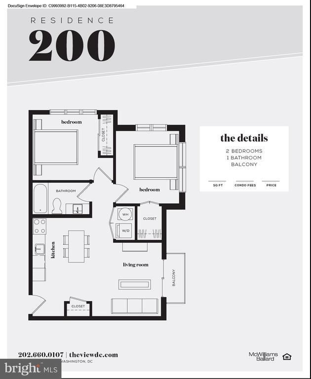 Floor Plan - 1016 17TH PL NE #200, WASHINGTON