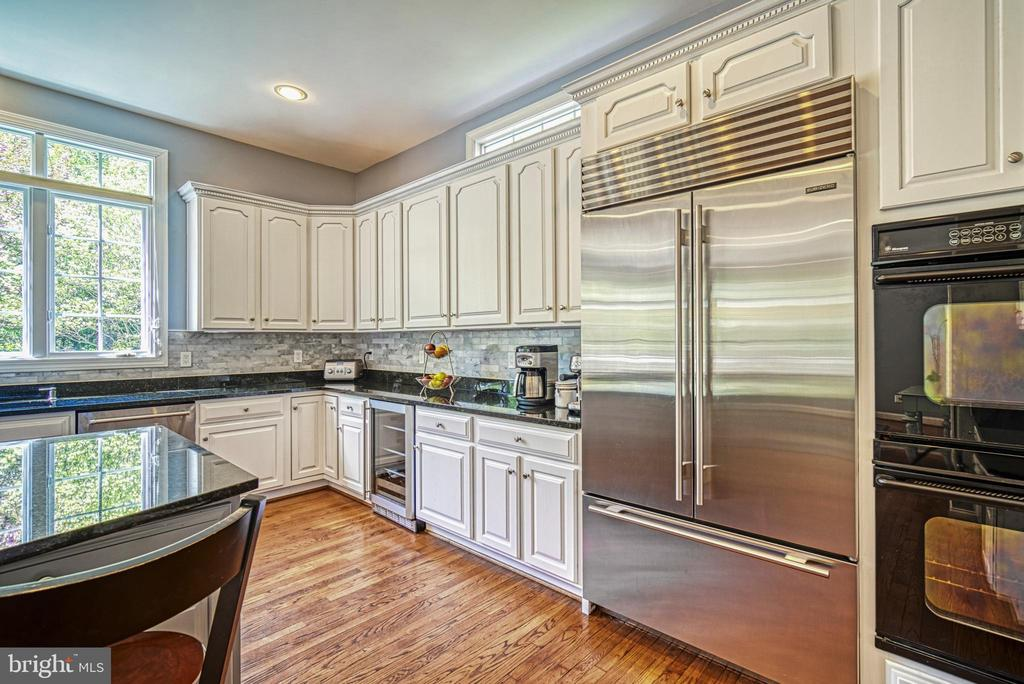 Sub Zero refrigerator is a fantastic plus! - 2704 SILKWOOD CT, OAKTON