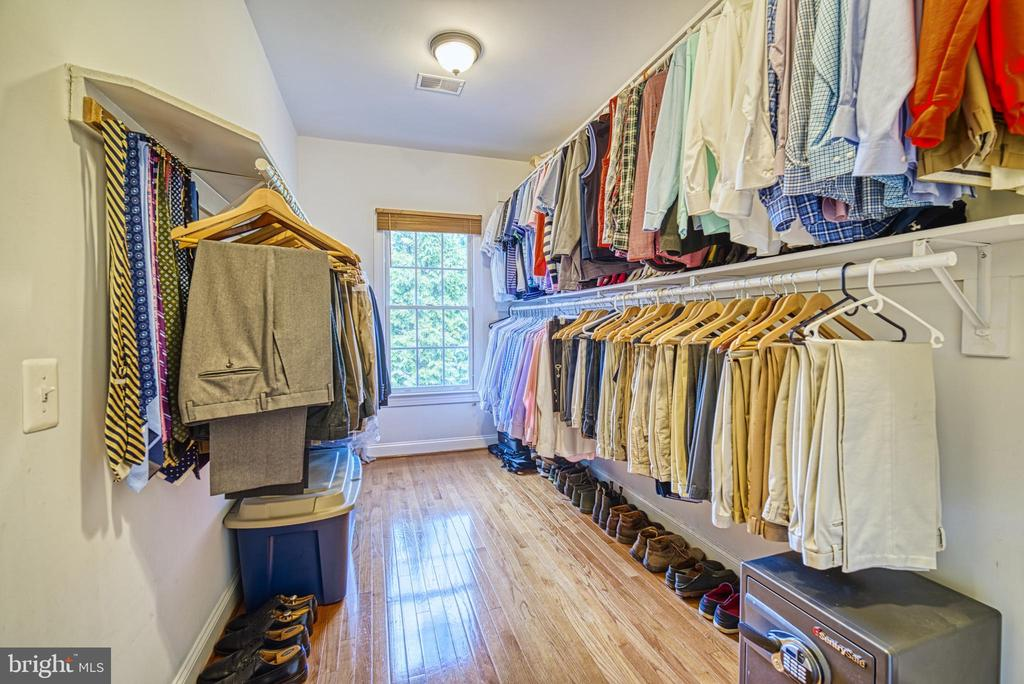There are 2 huge walk in closets in your master - 2704 SILKWOOD CT, OAKTON