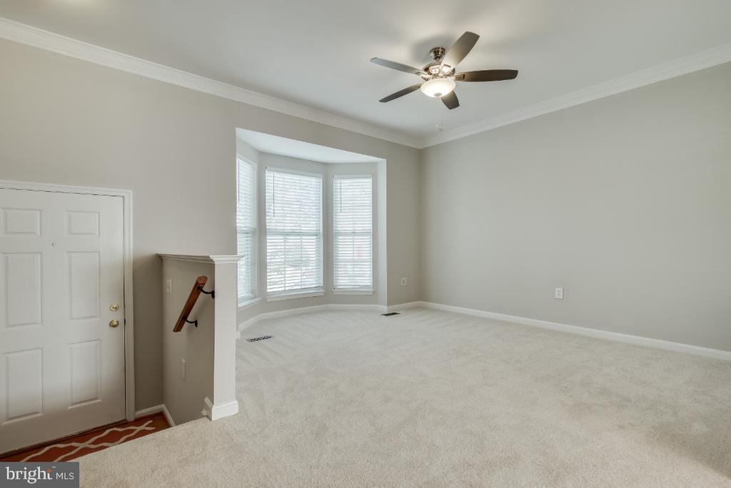 Living Room with Brand New Carpet - 43059 CANDLEWICK SQ, LEESBURG