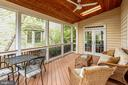 Sunroom, for even more relaxation space - 19862 LA BETE CT, ASHBURN