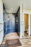 Master bath features shower and private w/c - 19862 LA BETE CT, ASHBURN