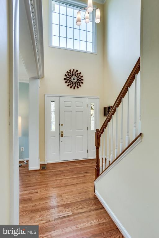 Lovely foyer leads to so many great features! - 19862 LA BETE CT, ASHBURN