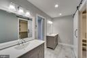 Master Bath with double vanities - 6 RIVER OAK PL, FREDERICKSBURG
