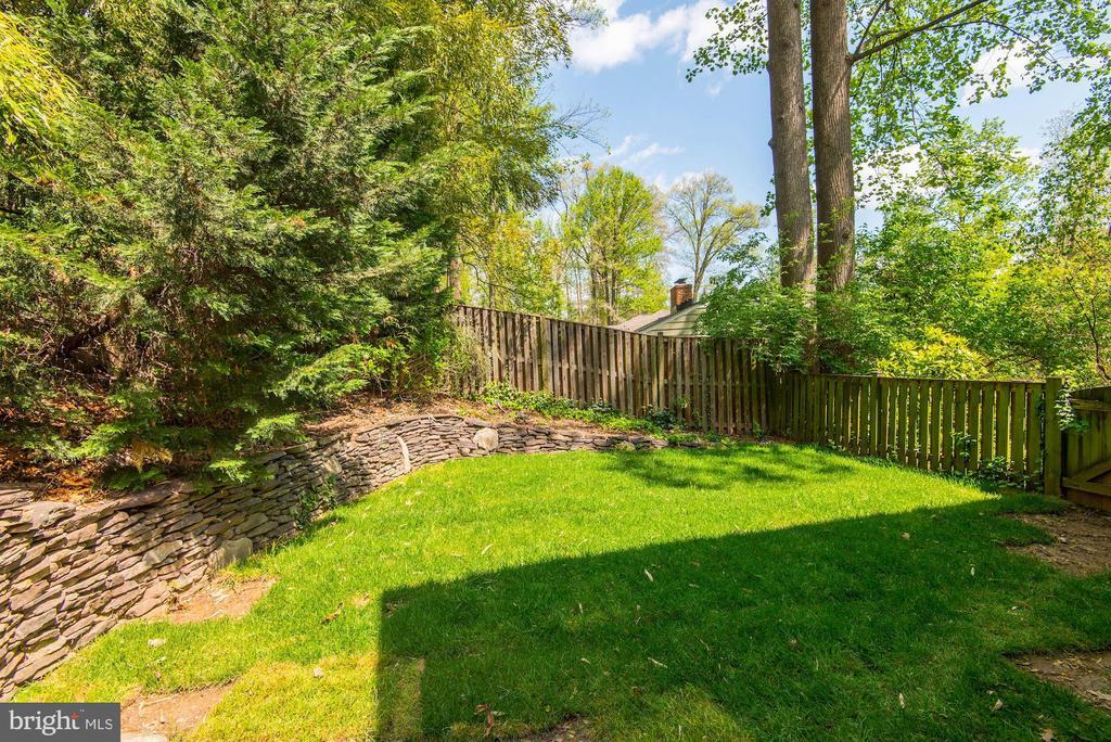 Backyard - 2326 N VERNON ST, ARLINGTON