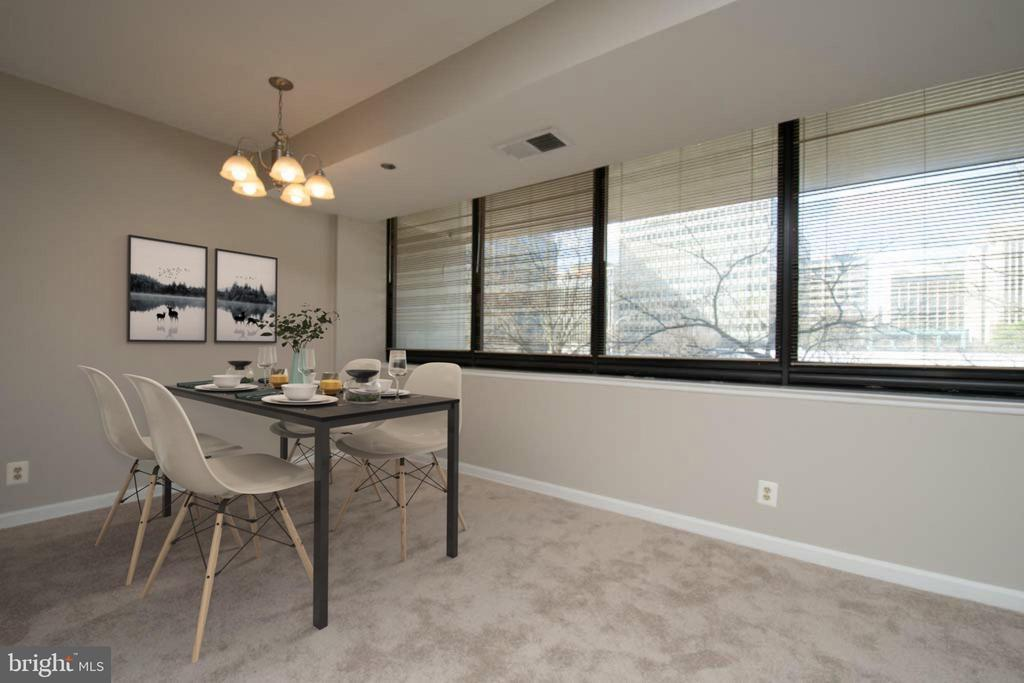 Disclaimer: This image has been virtually staged. - 1805 CRYSTAL DR #205 S, ARLINGTON