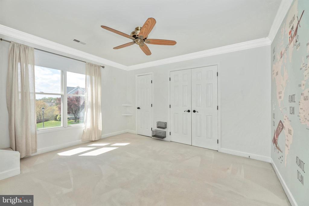 Upper level bedroom with bonus room up top! - 6301 IVERSON TER N, FREDERICK