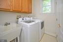 Main level laundry/laundry chute from master!! - 42 LIGHTFOOT DR, STAFFORD