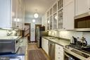 All white kitchen w/stainless steel appliances - 3819 LIVINGSTON ST NW, WASHINGTON