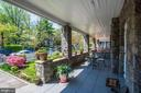 Romantic wrap around front porch w/garden views - 3819 LIVINGSTON ST NW, WASHINGTON