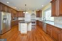 Kitchen view/amazing island & counter space - 42 LIGHTFOOT DR, STAFFORD