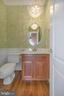 Powder room main level - 42 LIGHTFOOT DR, STAFFORD
