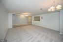 Basement step down game room/recreation room - 42 LIGHTFOOT DR, STAFFORD