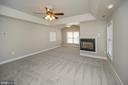 Master suite - 42 LIGHTFOOT DR, STAFFORD