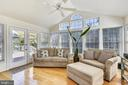 Sun room opens to deck! - 20756 LAPLUME PL, ASHBURN