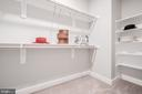 One of Two Master Walk-in Closets - 8604 NORFOLK AVE, ANNANDALE