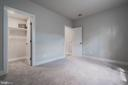 Spacious lower-level bedroom - 8604 NORFOLK AVE, ANNANDALE