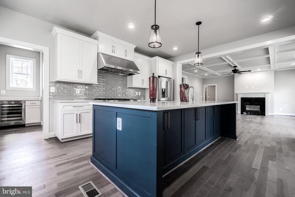Bright gourmet kitchen w/ butler's pantry - 8604 NORFOLK AVE, ANNANDALE