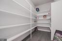 Oversized pantry off kitchen and mudroom - 8604 NORFOLK AVE, ANNANDALE