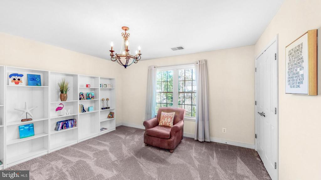 Bedroom with new carpet & two closets - 31 CRAWFORD LN, STAFFORD