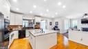 Gourmet kitchen with  upgraded white cabinets - 31 CRAWFORD LN, STAFFORD