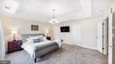 Master bedroom with two walk-in closets - 31 CRAWFORD LN, STAFFORD