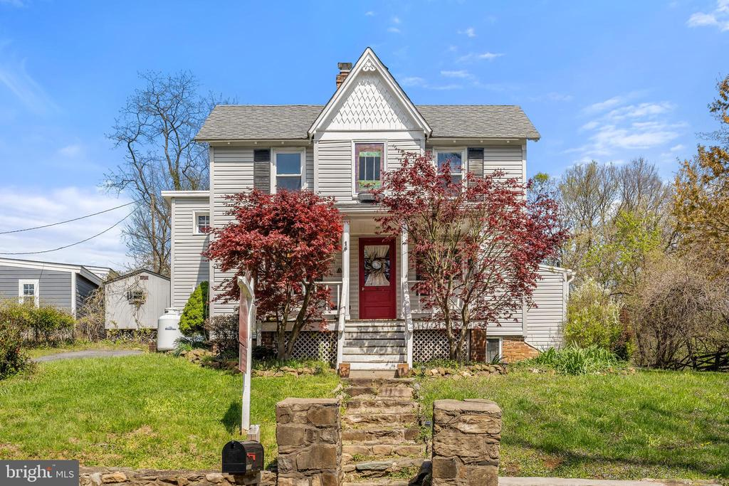 Red maples offer spring/summer privacy on porch! - 17350 DRY MILL RD, LEESBURG