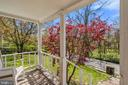 Beautiful green space views from porch! - 17350 DRY MILL RD, LEESBURG