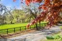 Board fence view across the road! - 17350 DRY MILL RD, LEESBURG