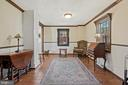 From kitchen through to LR view. - 17350 DRY MILL RD, LEESBURG