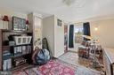 Ample closet in  roomy 3rd BR/music room. - 17350 DRY MILL RD, LEESBURG