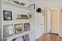 Built ins accent roomy master BR. - 17350 DRY MILL RD, LEESBURG