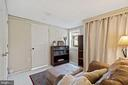 Lovely sitting room master offer 4 ample closets! - 17350 DRY MILL RD, LEESBURG