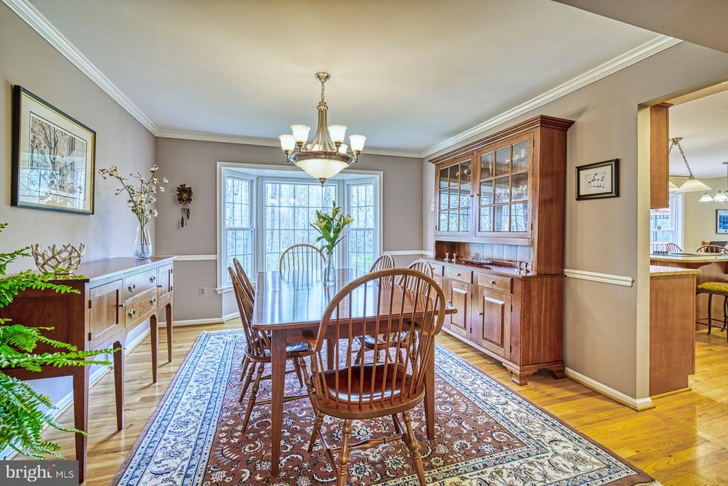 Spacious dining room - 12216 HEATHER WAY, HERNDON