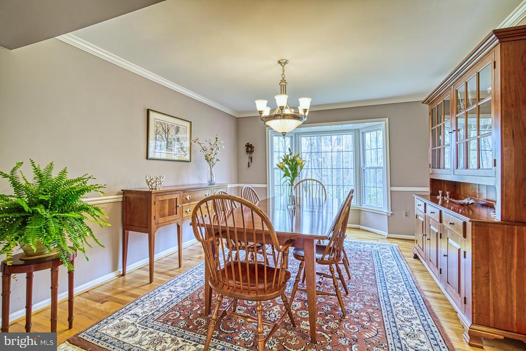 Walk in bay window with view of trees - 12216 HEATHER WAY, HERNDON