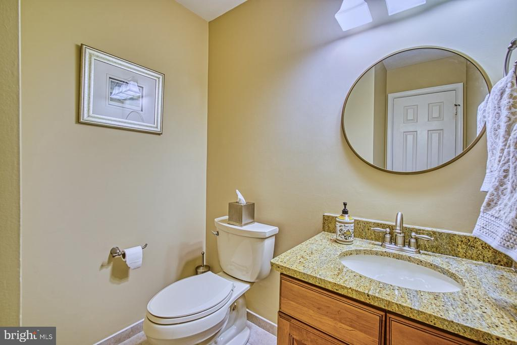 Main level half bath - 12216 HEATHER WAY, HERNDON