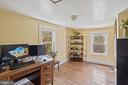 Roomy 2nd BR serves as office w/ lovely views! - 17350 DRY MILL RD, LEESBURG
