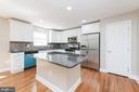 Kitchen - everything new including new hardwood fl - 5408 GREEN GLEN LN, ALEXANDRIA